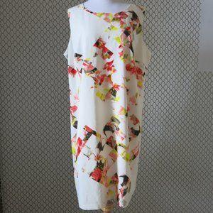Vince Camuto Sleeveless Shift Dress - Size 16W